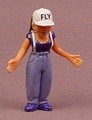 Homies Flygirl PVC Figure, 1 7/8 Inches Tall, Set 3, 2007 X-Concepts