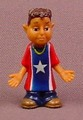 Mjos Homies Juan Chico PVC Figure, 1 5/8 Inches Tall, 1998 Gonzales Graphics