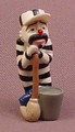 Psychoclowns Stripper The Clown PVC Figure, 1 3/4 Inches Tall, 2002 Gonzales Graphics