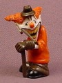 Psychoclowns Cereal The Clown PVC Figure, 1 3/4 Inches Tall, 2002 Gonzales Graphics