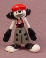Psychoclowns Loco The Clown PVC Figure, 1 3/4 Inches Tall, 2002 Gonzales Graphics
