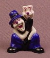 Psychoclowns 2Face The Clown PVC Figure, 1 1/2 Inches Tall, 2002 Gonzales Graphics