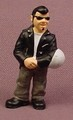Micro Icons Bikers #11 Chukker PVC Figure, 2 Inches Tall, Series 1, X-Concepts