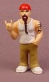 Micro Icons Bikers #6 Wyatt PVC Figure, 2 Inches Tall, Series 1, X-Concepts
