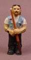 Micro Icons Bikers #5 T-Dog PVC Figure, 1 7/8 Inches Tall, Series 1, X-Concepts