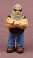 Micro Icons Bikers #7 Hopper PVC Figure, 1 7/8 Inches Tall, Series 1, X-Concepts