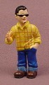 Micro Icons Bikers #4 Arnie PVC Figure, 1 7/8 Inches Tall, Series 1, X-Concepts