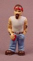Micro Icons Bikers #12 Billy Club PVC Figure, 1 7/8 Inches Tall, Series 1, X-Concepts