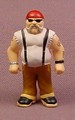 Micro Icons Bikers #10 Bobby D PVC Figure, 1 7/8 Inches Tall, Series 1, X-Concepts