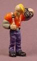 Micro Icons Punks #9 Otto PVC Figure, 1 7/8 Inches Tall, Series 1, X-Concepts