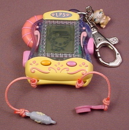 Littlest Pet Shop Digital Pets Hamster #51748, Special Charms Let You Feed  & Brush Your Pet