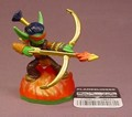 Skylanders Flameslinger Figure With Code Tag, Fire Element, Spyro's Adventures Series