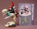 Skylanders Fright Rider Figure With Card, Undead Element, Giants Series, 3 5/8 Inches Tall
