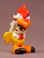 Tech Deck Dude Cluckers, #099, Original Series, No Arms, Yellow & Red Chicken Suit, 2003