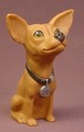 Taco Bell Yoquiero Chihuahua Dog Figure, Hollow Vinyl Figure, 4 Inches Tall, Applause