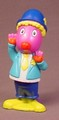 Backyardigans Austin Bobble Head Figure, 3 1/2 Inches Tall, Bobblin' Big Top Circus Train Set