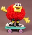 Koosh Kooshling Ball Bendy Figure Riding A Skateboard, 4 Inches Tall