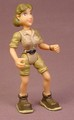 Rainforest Cafe Female Veterinarian Figure, 3 3/4 Inches Tall, The Head Arms & Legs Move