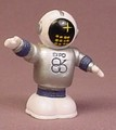 Expo 1986 Ernie The Robot Mascot PVC Figure, 2 Inches Tall, Figurine, Vancouver B.C. Canada