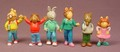 Arthur Set Of 6 Mini PVC Figures, 1 1/2 Inches Tall, Marc Brown, PBS TV Show