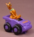 Scooby Doo In A Purple Dune Buggy With A Pull Back Motor, 3 Inches Long, 1999 Dairy Queen