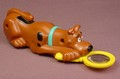 Scooby Doo Finds A Clue Wind Up Figure With A Magnifying Glass, 5 1/2 Inches Long