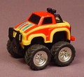 Tonka Turbo Tricksters #106 4X4 Dunlop Turbo Monster Truck With A Pull Back Motor