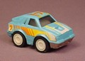 Buddy L 1986 Blue Car With A Pull Back Motor, Work Great, 2 1/2 Inches Long