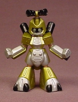 Medabots Metabee Figure, 2 1/2 Inches Tall, RBT-11220, 2 Pack Series, 1999 Hasbro Takara