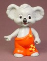 Blinky Bill The Koala Bear Poseable Figure, 3 3/4 Inches Tall, 1995 Ertl