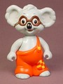 Blinky Bill The Koala Bear With Brown Glasses Poseable Figure, 3 3/4 Inches Tall, 1995 Ertl