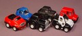 Buddy L Lot Of 6 Mini Cars With Pull Back Motors, All Work Great, They Are All Dated 1989
