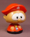 Shelcore Bobble Head Pirate Figure Toy From A Shake & Bobbles Pirate Ship Set