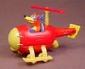 Dora The Explorer Swiper The Fox In A Diecast Metal Helicopter, 3 1/2 Inches Tall