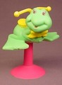 Playground Kids Green Frog Spring Ride With Suction Cup Mount, TCFC, 1991 Ertl