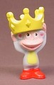 Dora The Explorer Boots The Monkey Wearing A Crown PVC Figure, 2 1/8 Inches Tall, 2006