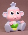 Dora The Explorer Baby Boots The Monkey Vinyl Figure, 3 1/4 Inches Tall, 2010 Mattel