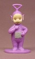 Teletubbies Tinky Winky PVC Figure On A Base, 2 7/8 Inches Tall