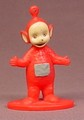 Teletubbies Po PVC Figure On A Base, 2 1/2 Inches Tall