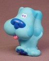 Blue's Clues Figure Toy, 2 5/8 Inches Tall, Vinyl Figure, Blues Clues, 1998
