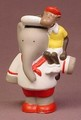 Babar The Elephant Alexander Holding Zephir The Monkey Vinyl Figure, 3 3/8 Inches Tall, 1992