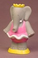 Babar The Elephant Queen Celeste Water Squirter Vinyl Figure, 3 1/2 Inches Tall, 1992