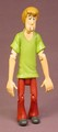 Scooby Doo Shaggy Action Figure, 4 3/4 Inches Tall, The Head Arms & Legs Are Articulated