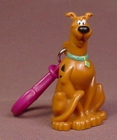 Scooby Doo PVC Figure With Loop, 2 1/4 Inches Tall, 2002