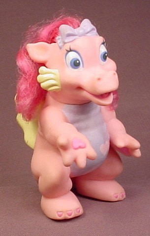My Magic Kissing Dragon Smoocher Soft Rubber Figure, 4 3/4 Inches Tall, 1998 Galoob