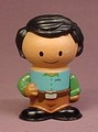 Play Town Dad Father Figure, Wood & Plastic, 2 5/8 Inches Tall, Wooden, Learning Curve