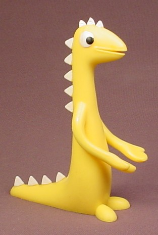 Gumby Prickle The Yellow Dinosaur Rubber Bendy Figure, 4 3 ...