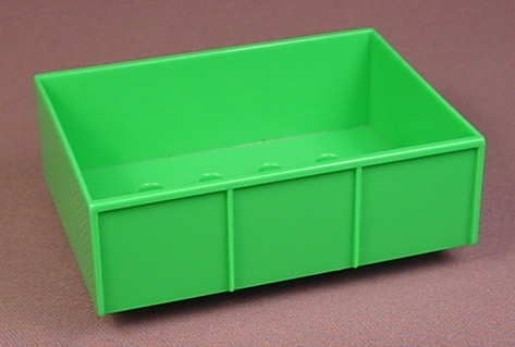 Lego Duplo 47448 Bright Green Trailer Bed With 2X4 Studs & 4 Sides, 5647 Big Tractor