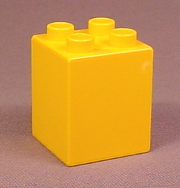 Lego Duplo 31110 Light Orange 2X2X2 Brick