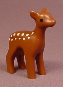 Playmobil 123 Fawn Baby Deer With Spots Animal Figure, 5058 5497 6772 6787, 60 64 4860